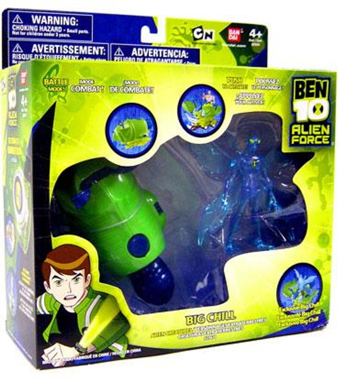 Ben 10 Alien Force Alien Creatures Big Chill Action Figure Set [Clear]