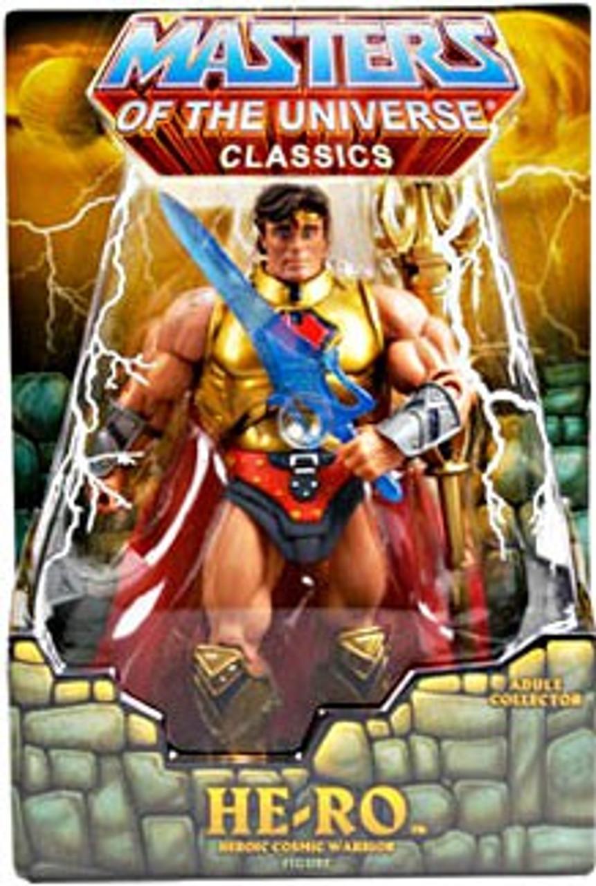 Masters of the Universe Classics Club Eternia He-Ro Exclusive Action Figure [Random Stone]