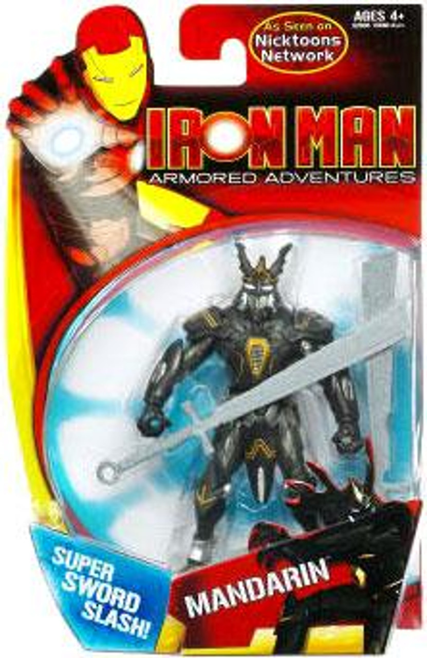 Iron Man Armored Adventures Mandarin Action Figure