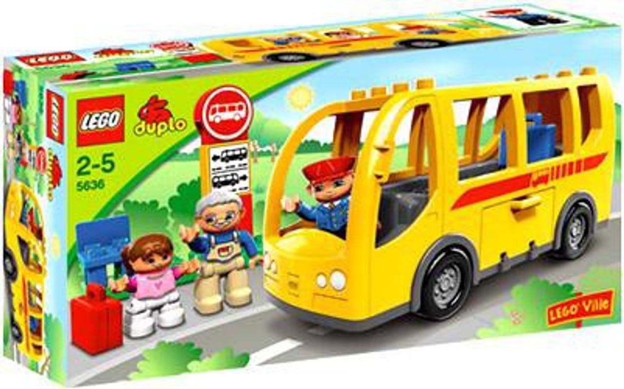 Duplo Lego Ville Bus Set #5636