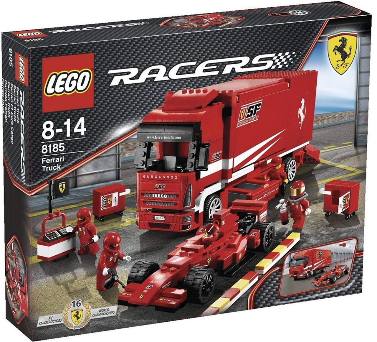 lego racers ferrari truck set 8185 toywiz. Black Bedroom Furniture Sets. Home Design Ideas