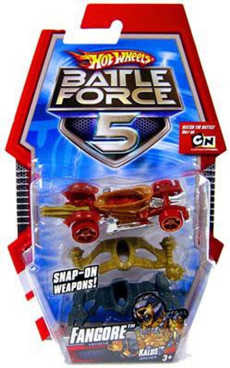 Hot Wheels Battle Force 5 Fangore 1/6 Diecast Vehicle