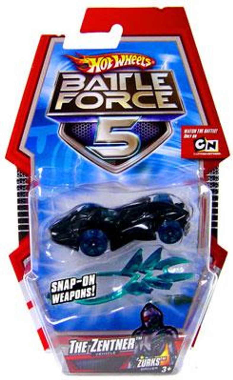 Hot Wheels Battle Force 5 The Zentner 1/6 Diecast Vehicle