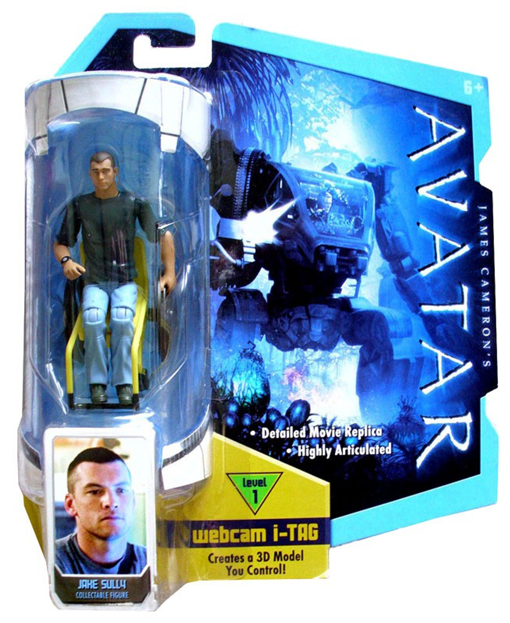 Jake Sully Avatar 2: James Camerons Avatar Jake Sully 3.75 Action Figure
