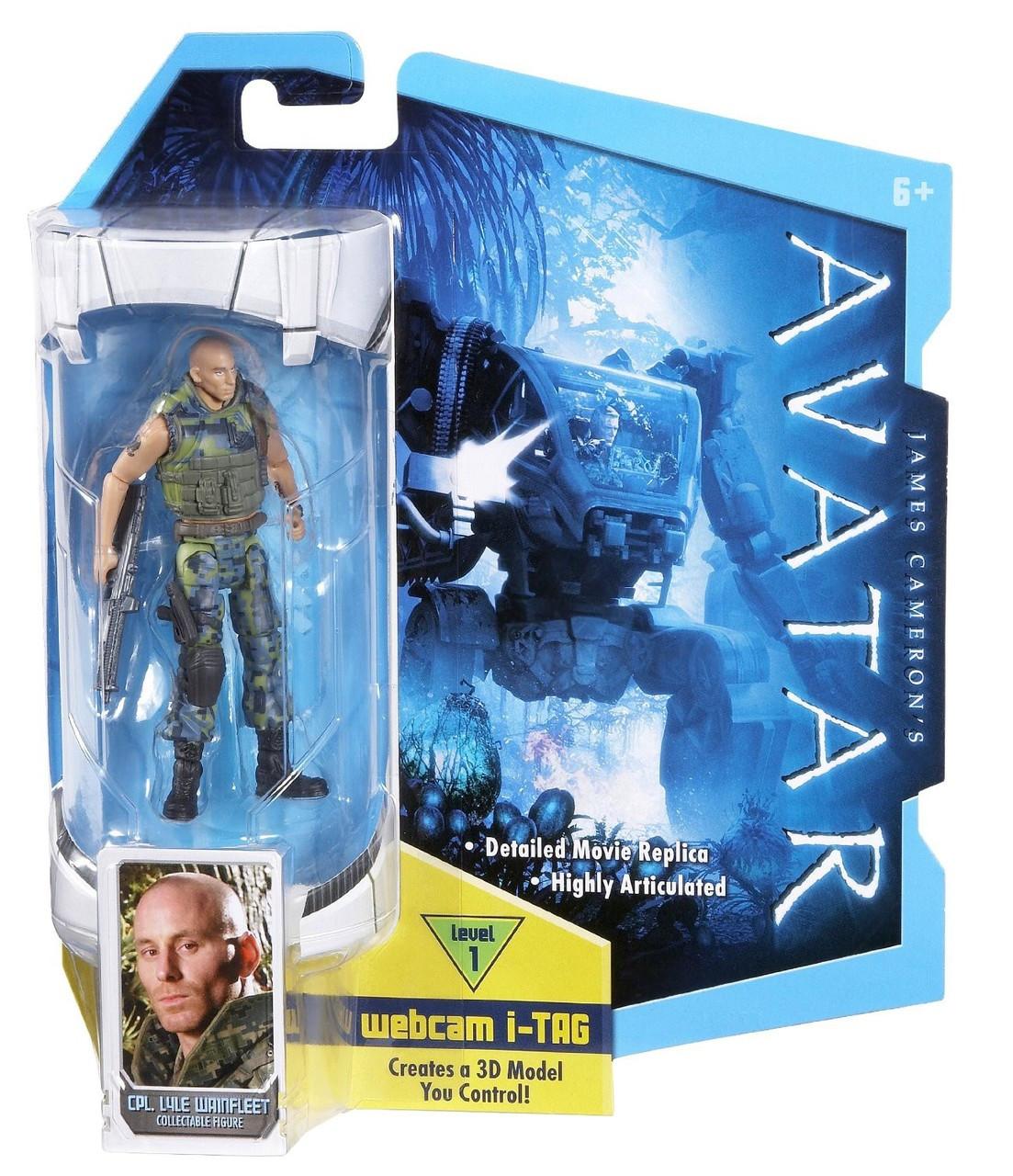 James Cameron's Avatar Corporal Lyle Wainfleet Action Figure
