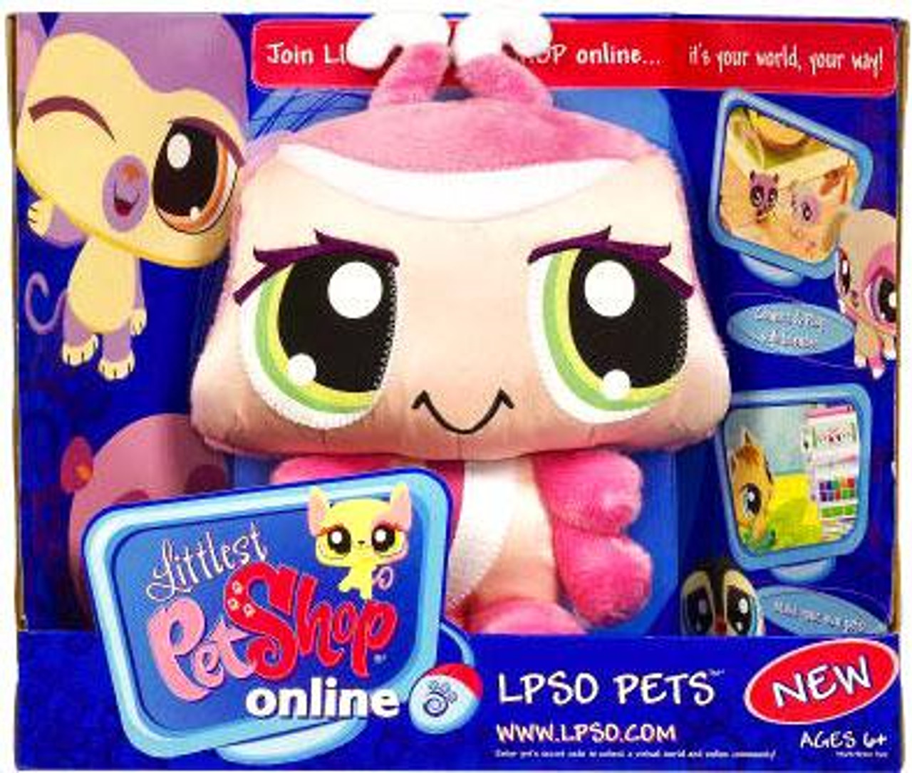 Littlest Pet Shop Online LPSO Pets Ladybug Plush