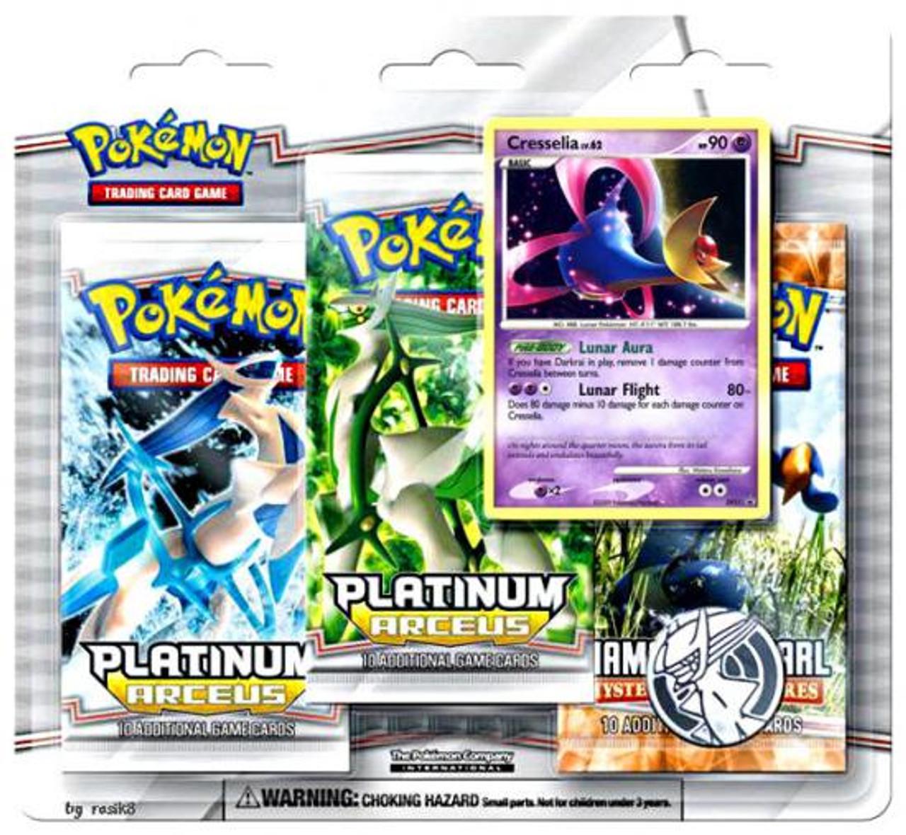 Pokemon Platinum Arceus Special Edition [Cresselia]