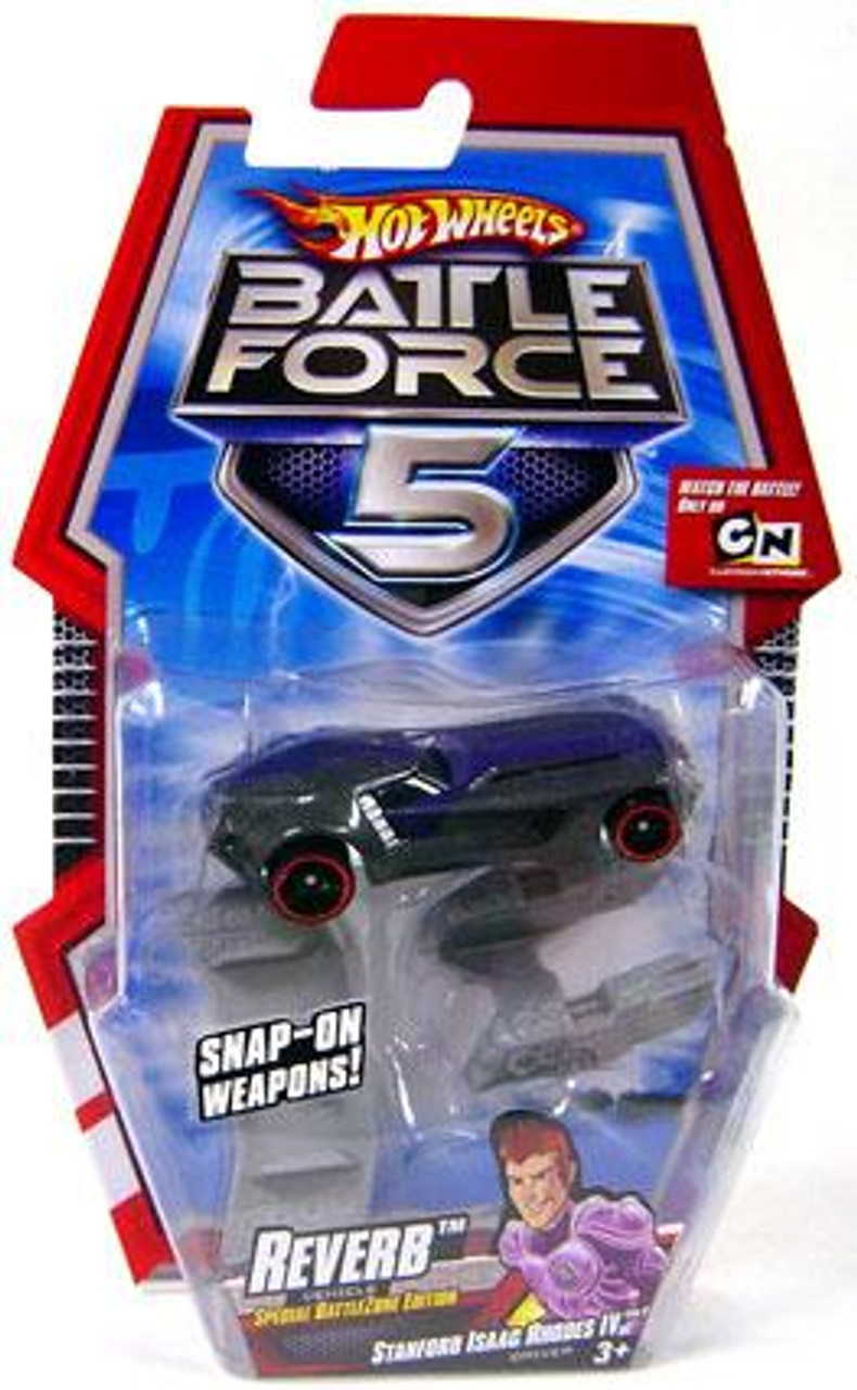 Hot Wheels Battle Force 5 Reverb 1/6 Diecast Vehicle [Special Battle Zone Edition]