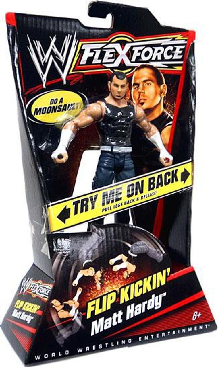 WWE Wrestling FlexForce Series 1 Flip Kickin' Matt Hardy Action Figure