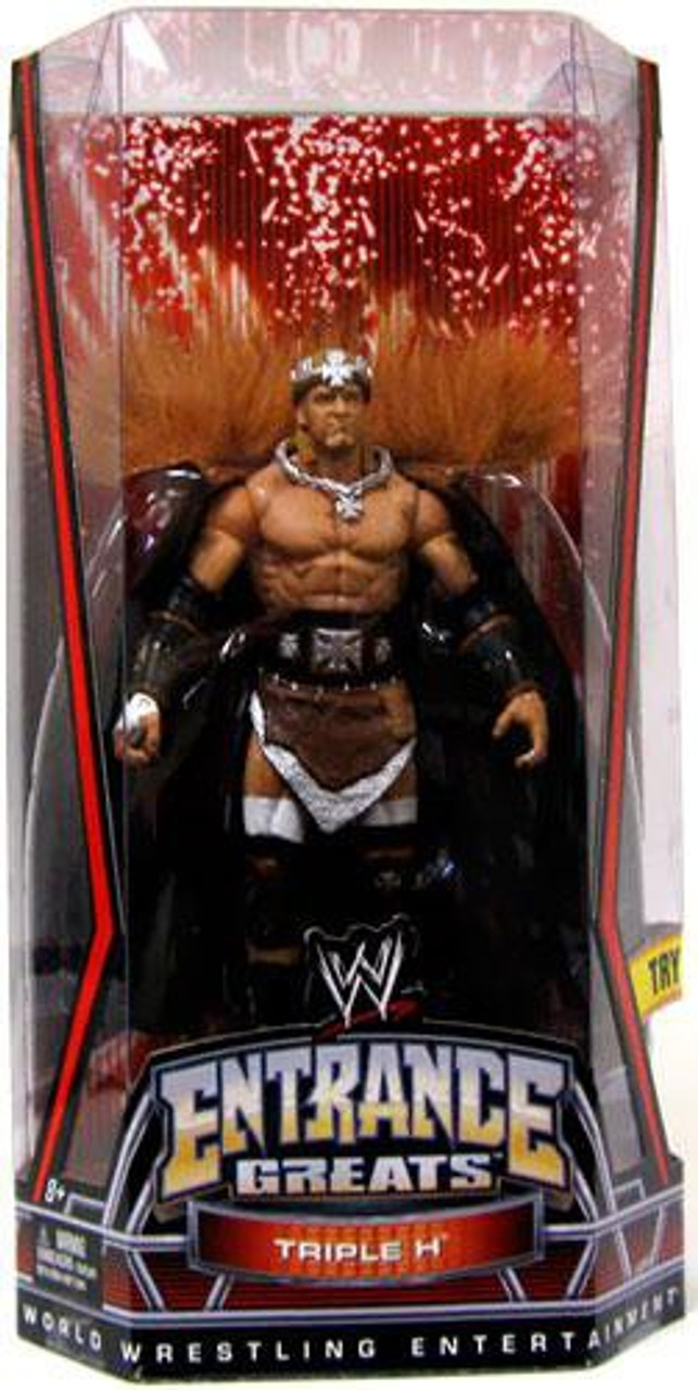 WWE Wrestling Entrance Greats Triple H Action Figure