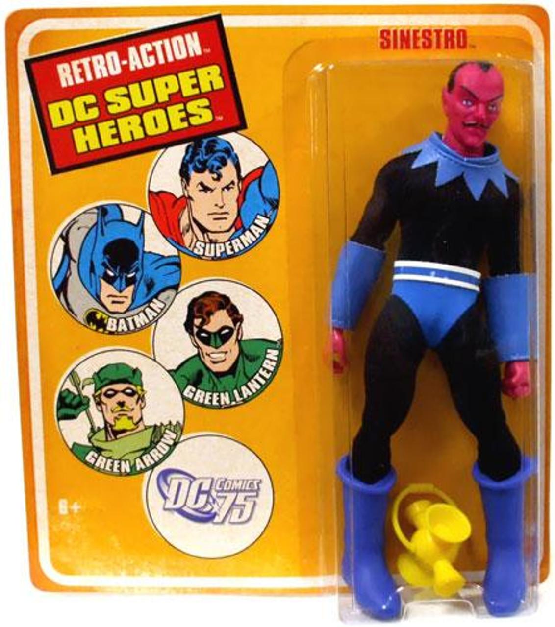 DC Green Lantern World's Greatest Super Heroes Retro Series 1 Sinestro Retro Action Figure