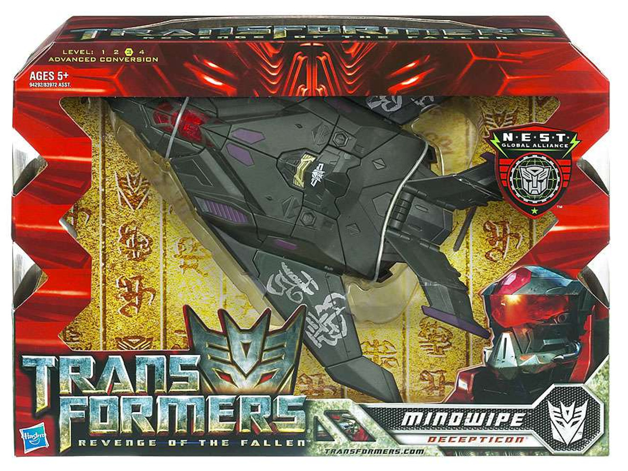 Transformers Revenge of the Fallen Mindwipe Voyager Action Figure