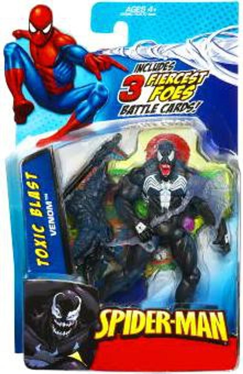 Spider-Man 2010 Toxic Blast Venom Action Figure
