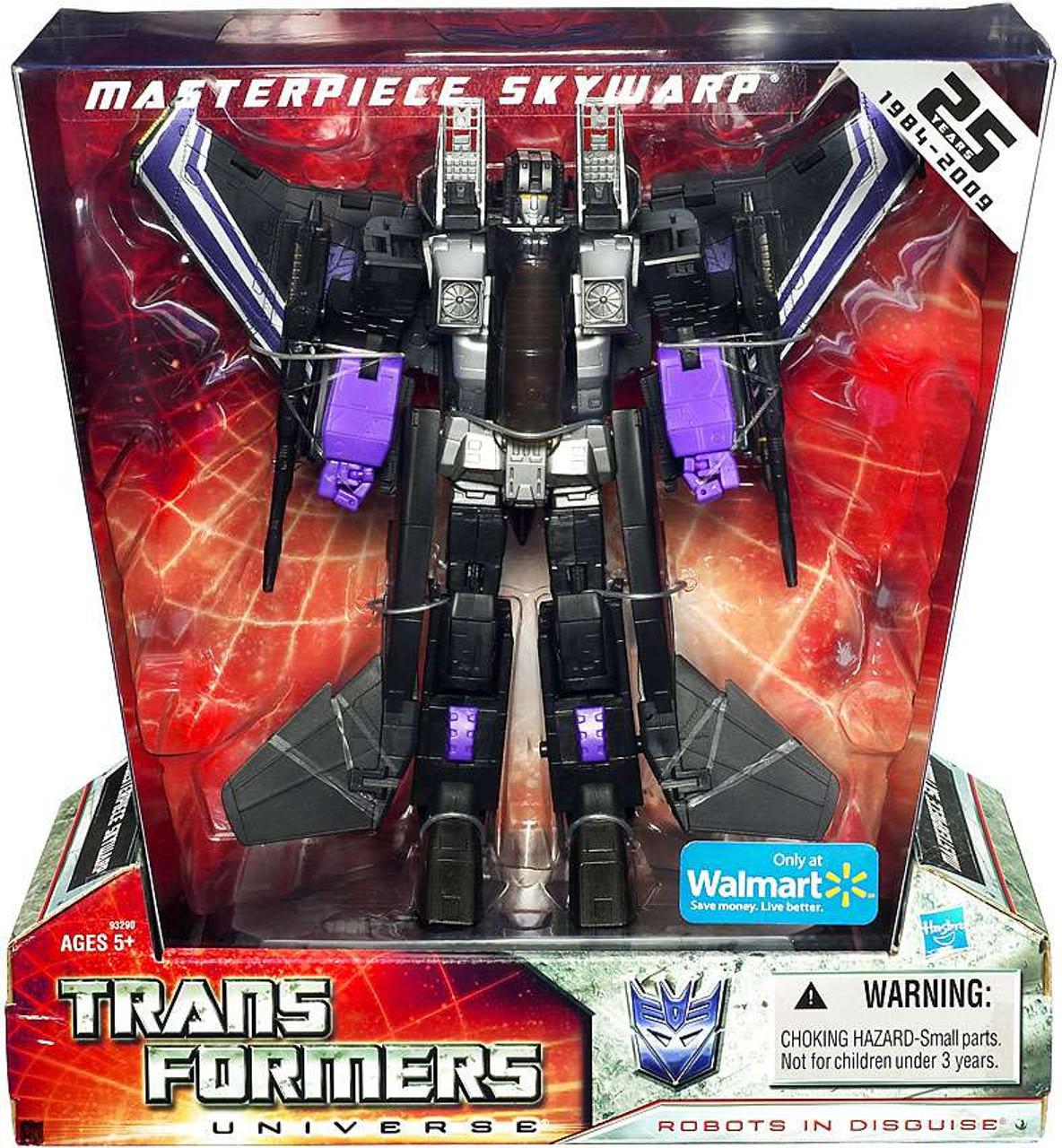 Transformers Universe 25th Anniversary Masterpiece Skywarp Exclusive Deluxe Action Figure