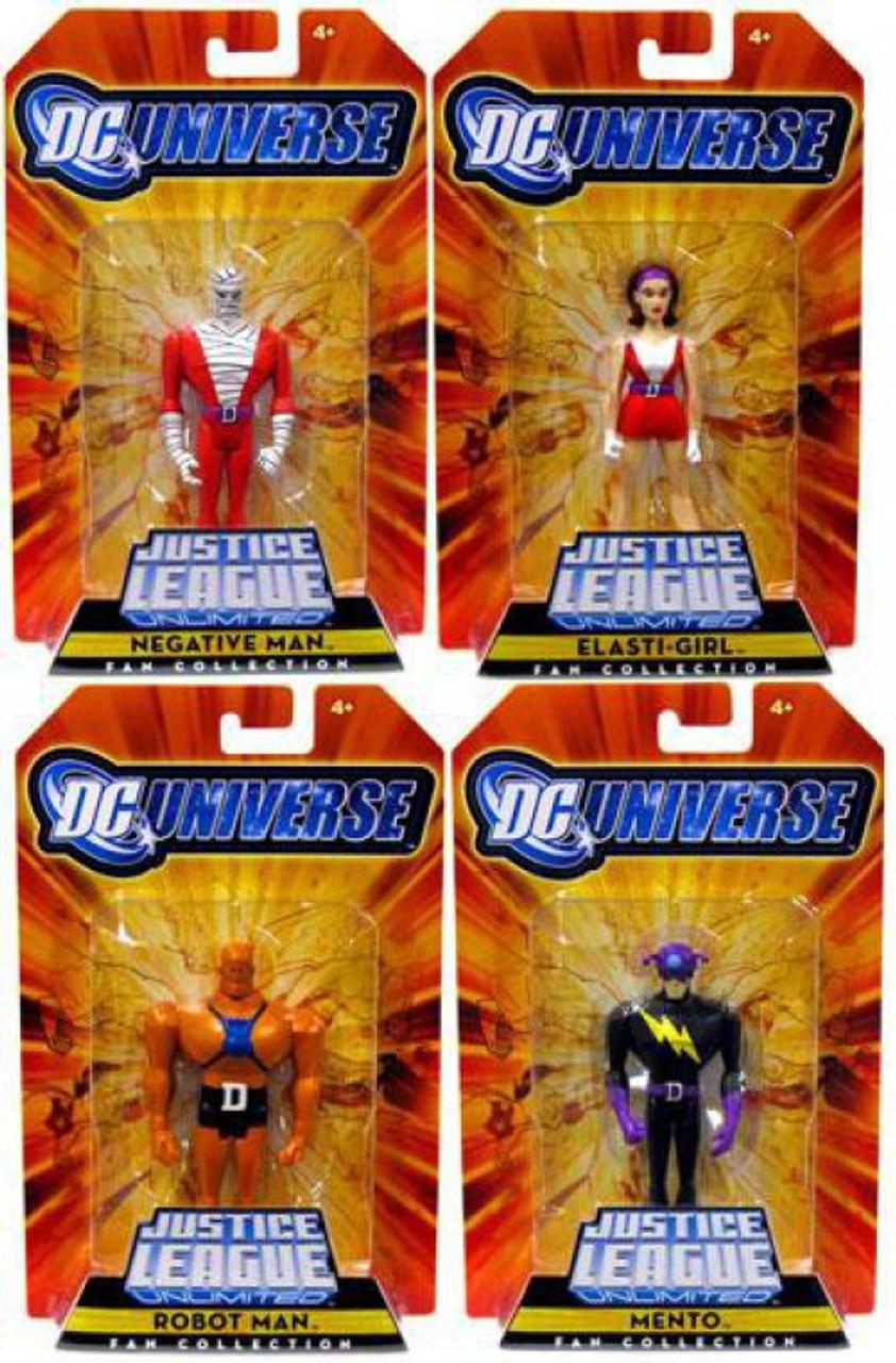 DC Justice League Unlimited Doom Patrol Set of 4 Exclusive Action Figures