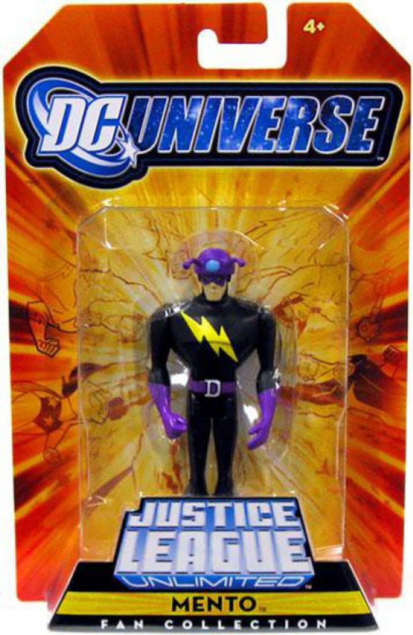 DC Universe Justice League Unlimited Fan Collection Mento Exclusive Action Figure