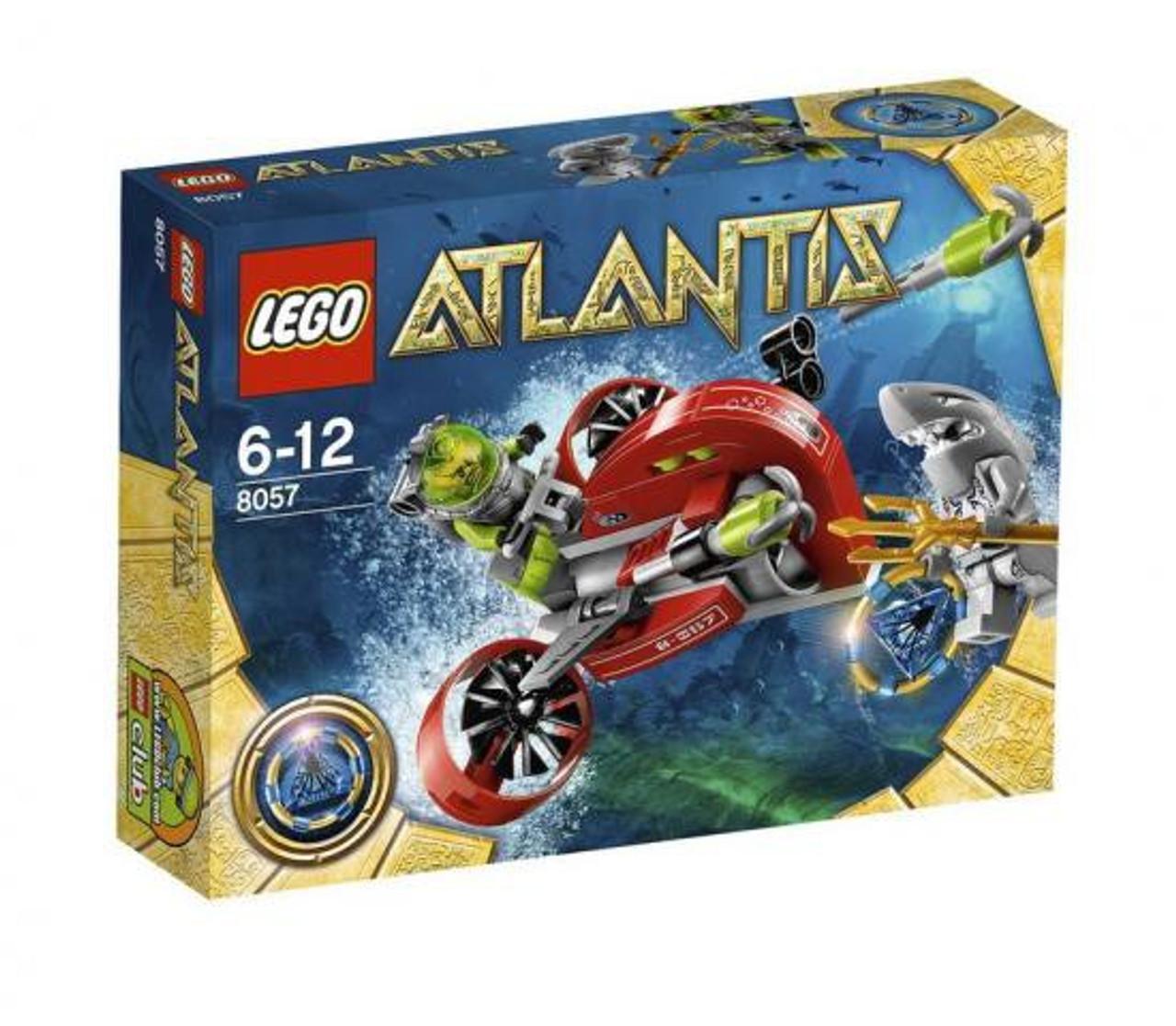 LEGO Atlantis Wreck Raider Set #8057