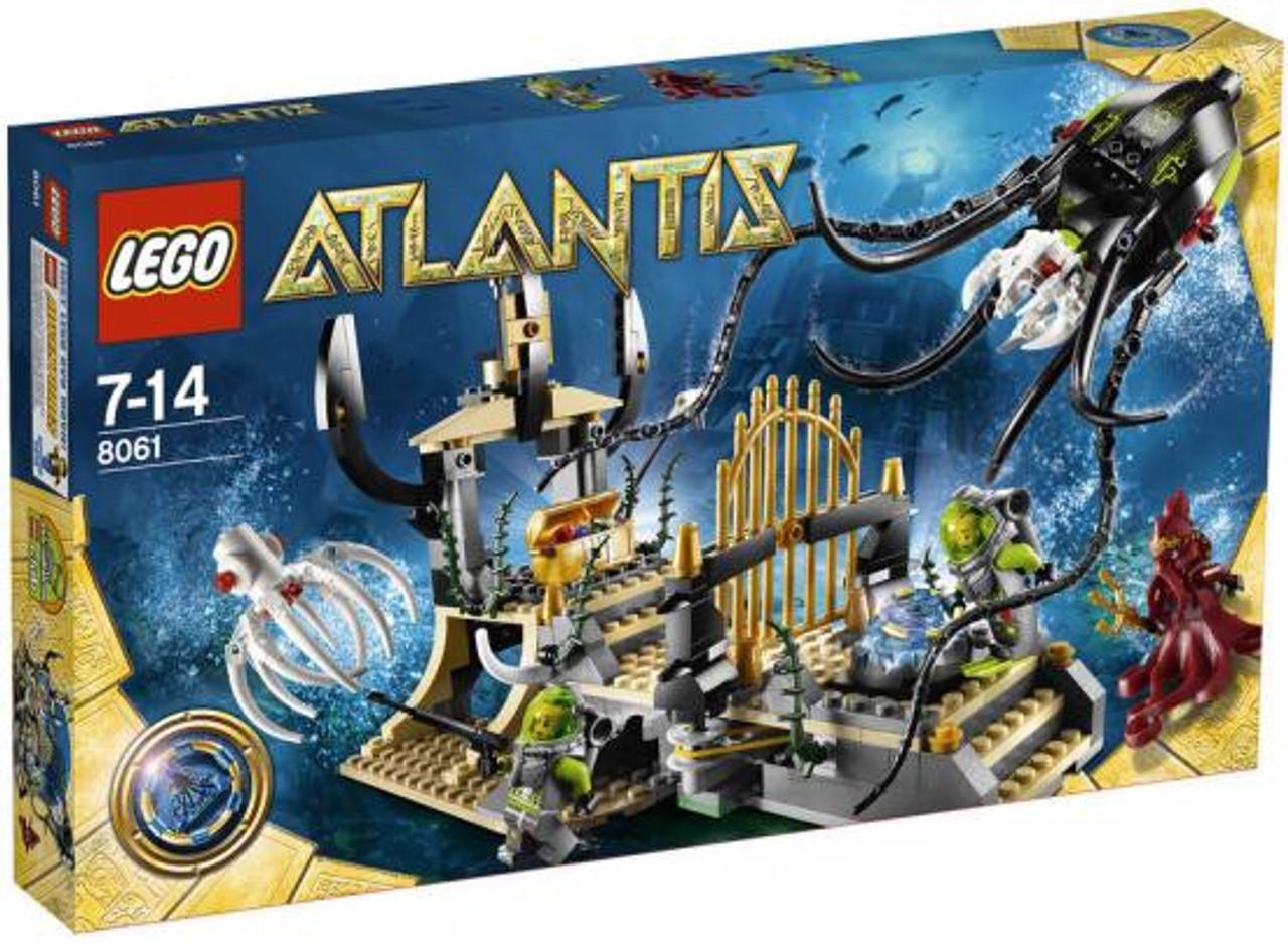 LEGO Atlantis Gateway of the Squid Set #8061
