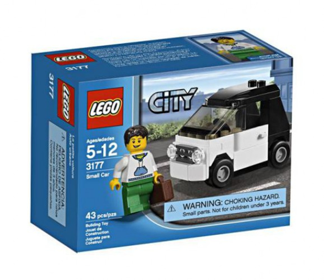 LEGO City Small Car Set #3177