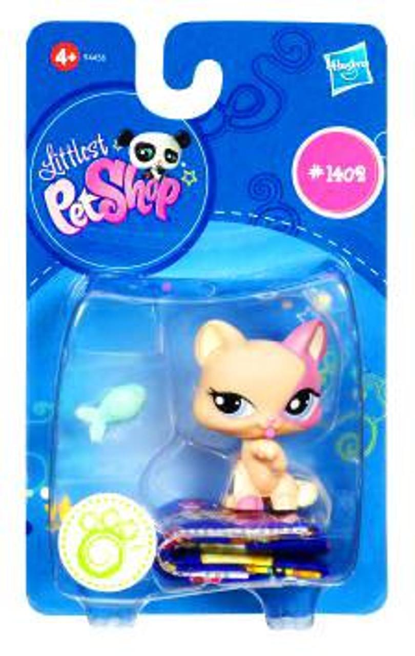 Littlest Pet Shop Kitty Figure #1402