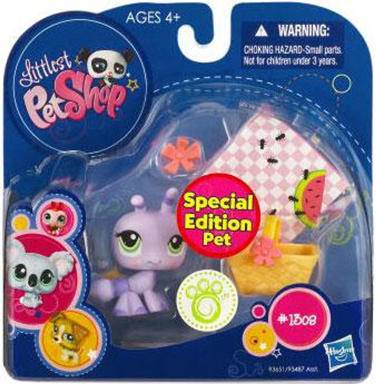 Littlest Pet Shop 2010 Assortment A Series 1 Ant Figure #1308 [Picnic Accessories]