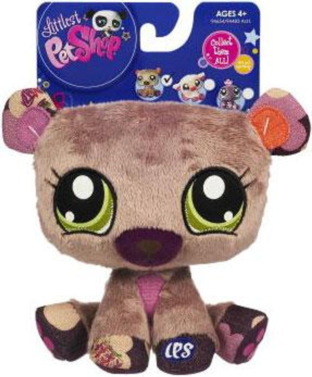 Littlest Pet Shop Bear 5-Inch Plush
