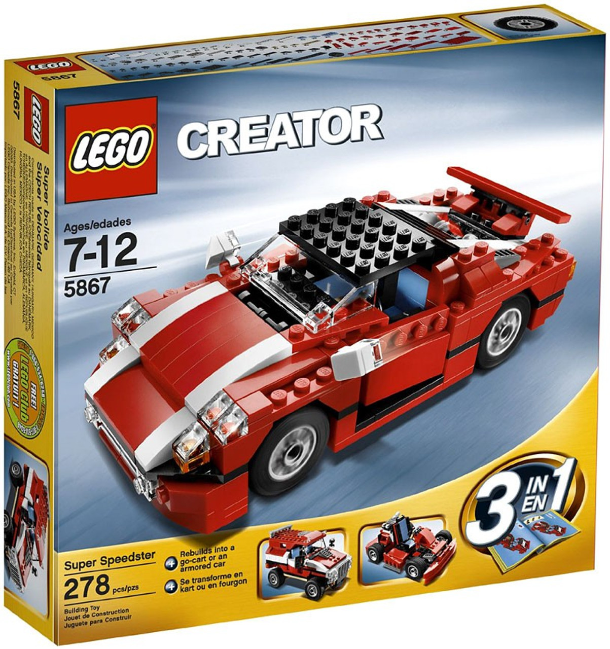 LEGO Creator Super Speedster Set #5867