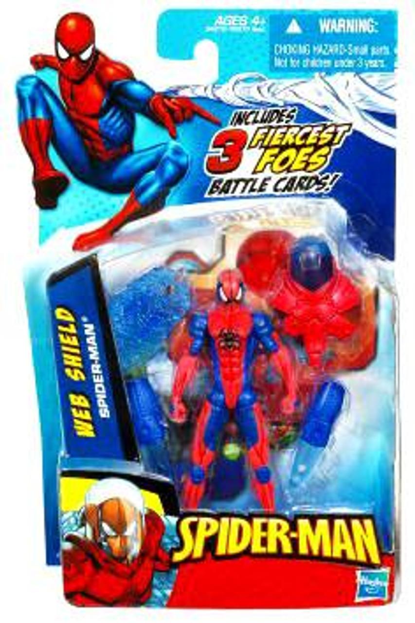 Spider-Man 2010 Web Shield Spider-Man Action Figure