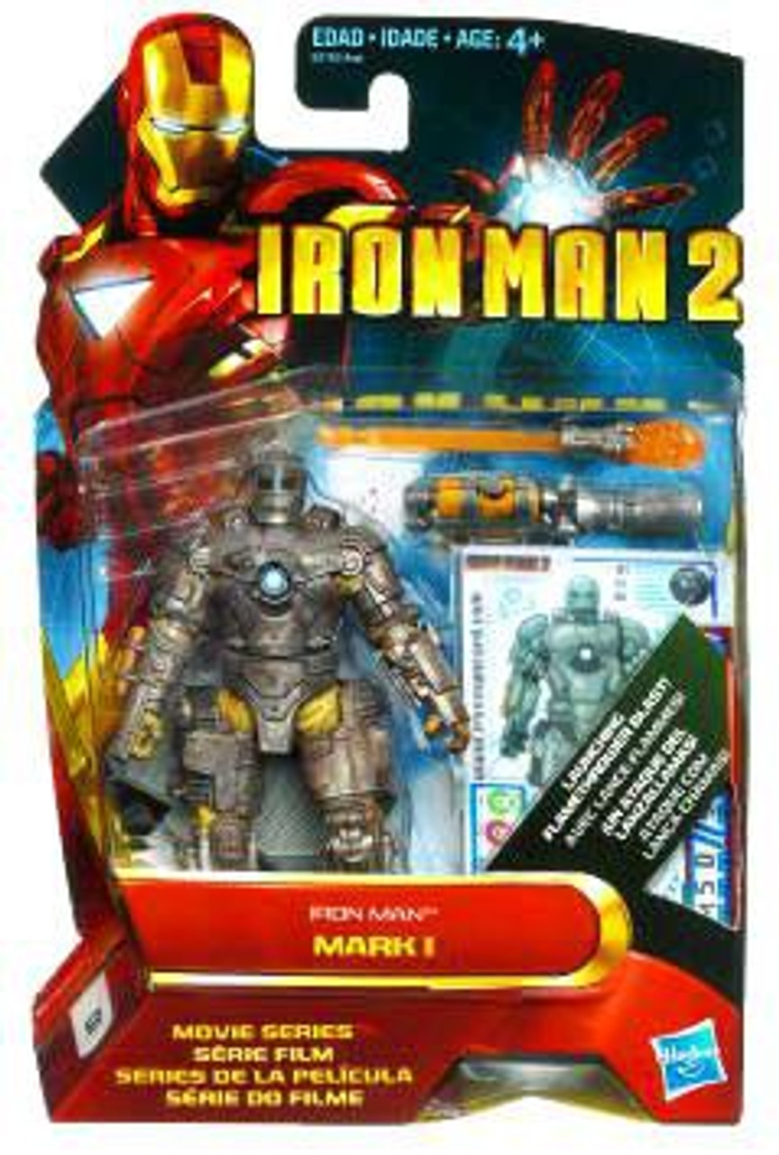 Iron Man 2 Movie Series Iron Man Mark I Action Figure #1