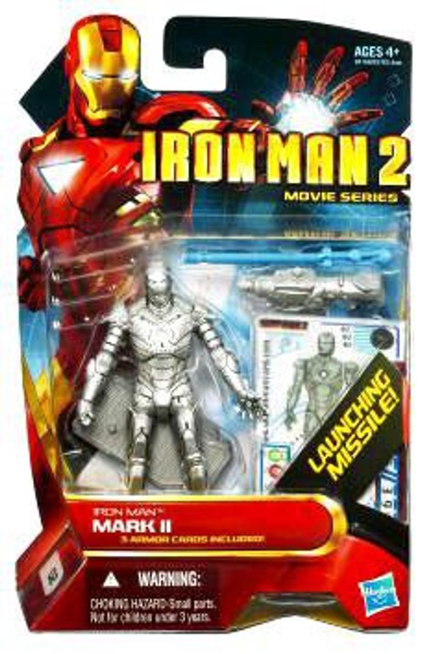 Iron Man 2 Movie Series Iron Man Mark II Action Figure #2