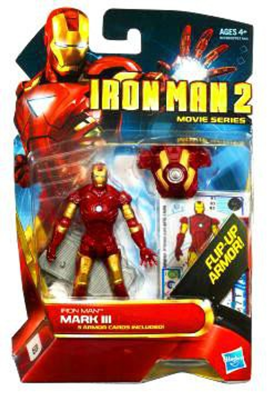 Iron Man 2 Movie Series Iron Man Mark III Action Figure #3