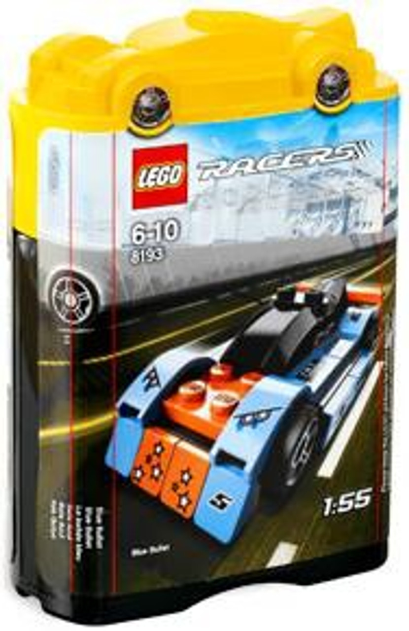 LEGO Racers Tiny Turbos Blue Bullet Set #8193