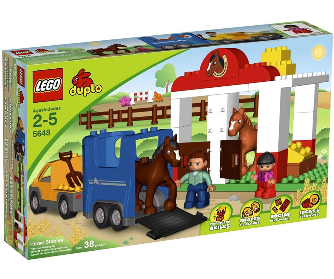 LEGO Duplo Horse Stables Set #5648