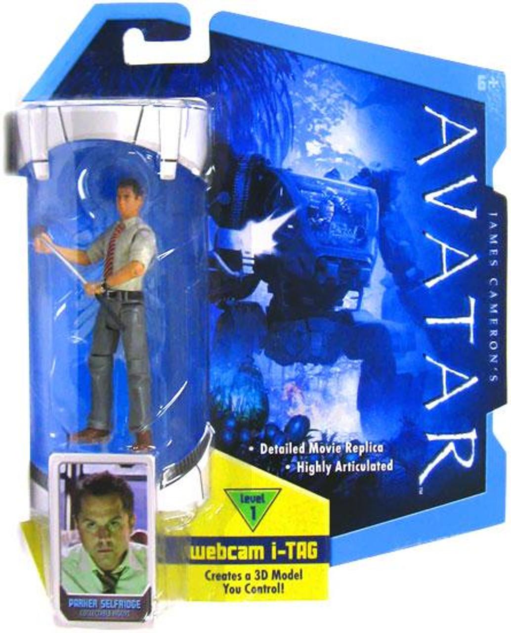 James Cameron's Avatar Parker Selfridge Action Figure