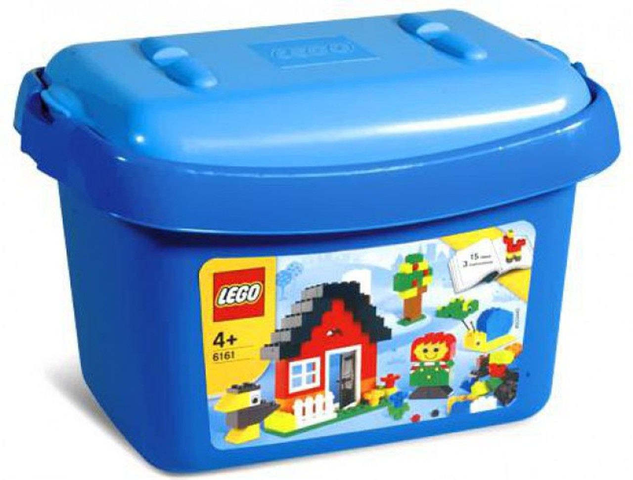 LEGO Small Blue Brick Box Set #6161