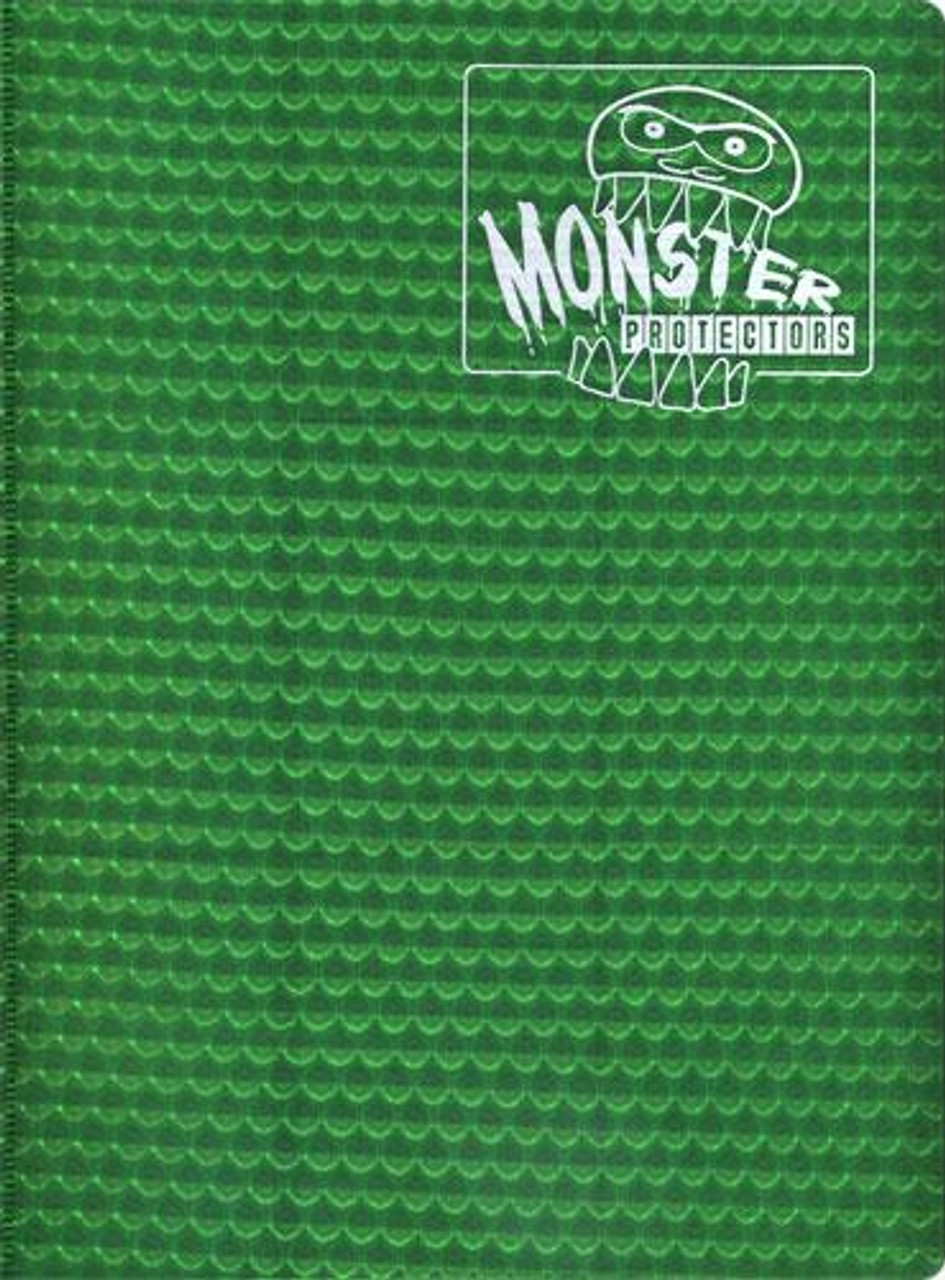 Card Supplies Green 9-Pocket Binder