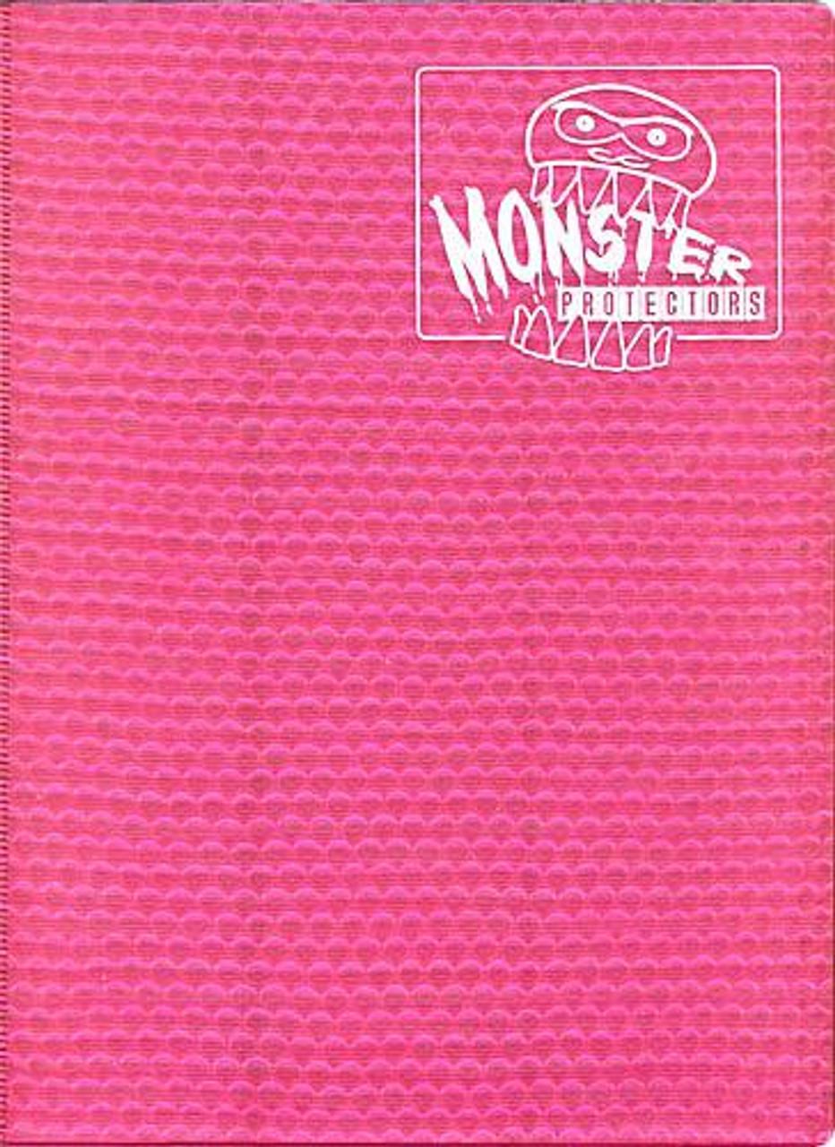 Card Supplies Pink 9-Pocket Binder