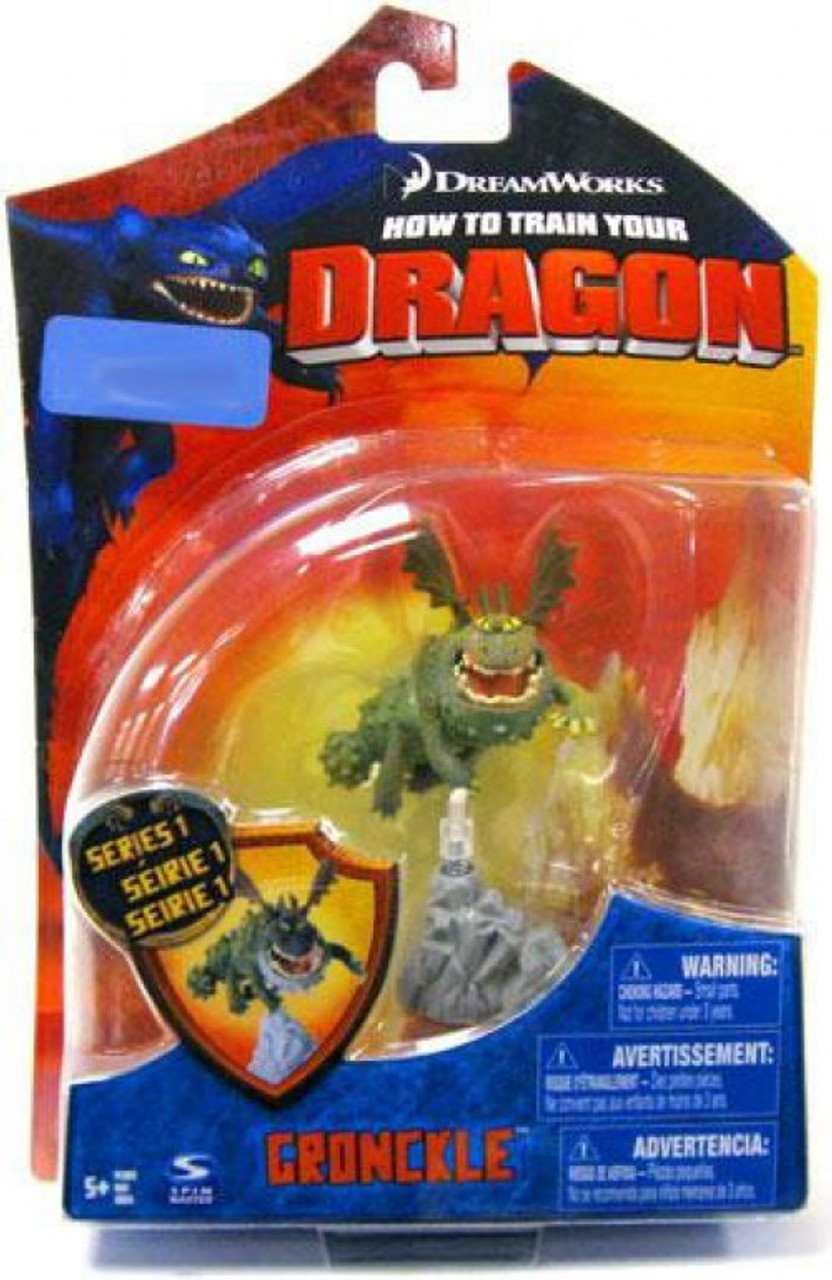 How to Train Your Dragon Gronckle Exclusive Action Figure
