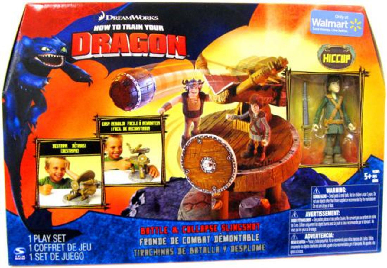 How to Train Your Dragon Battle & Collapse Slingshot Exclusive [Hiccup]