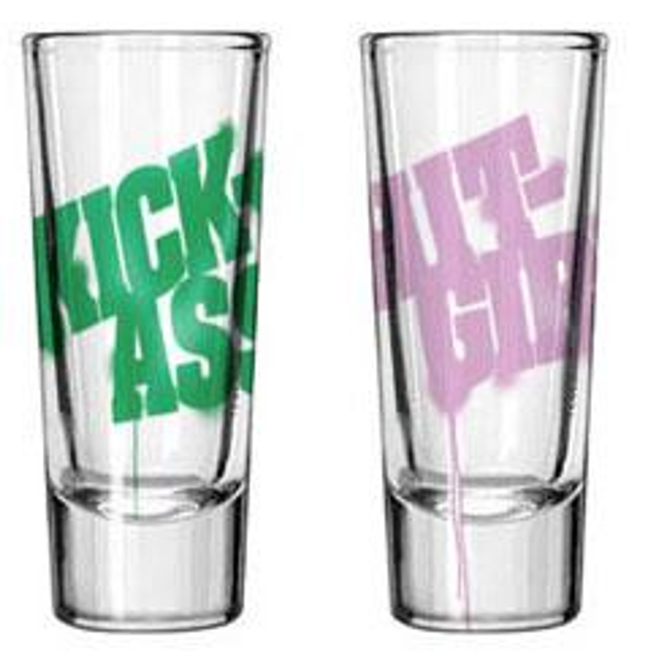 Kick-Ass & Hit Girl Shot Glass Set