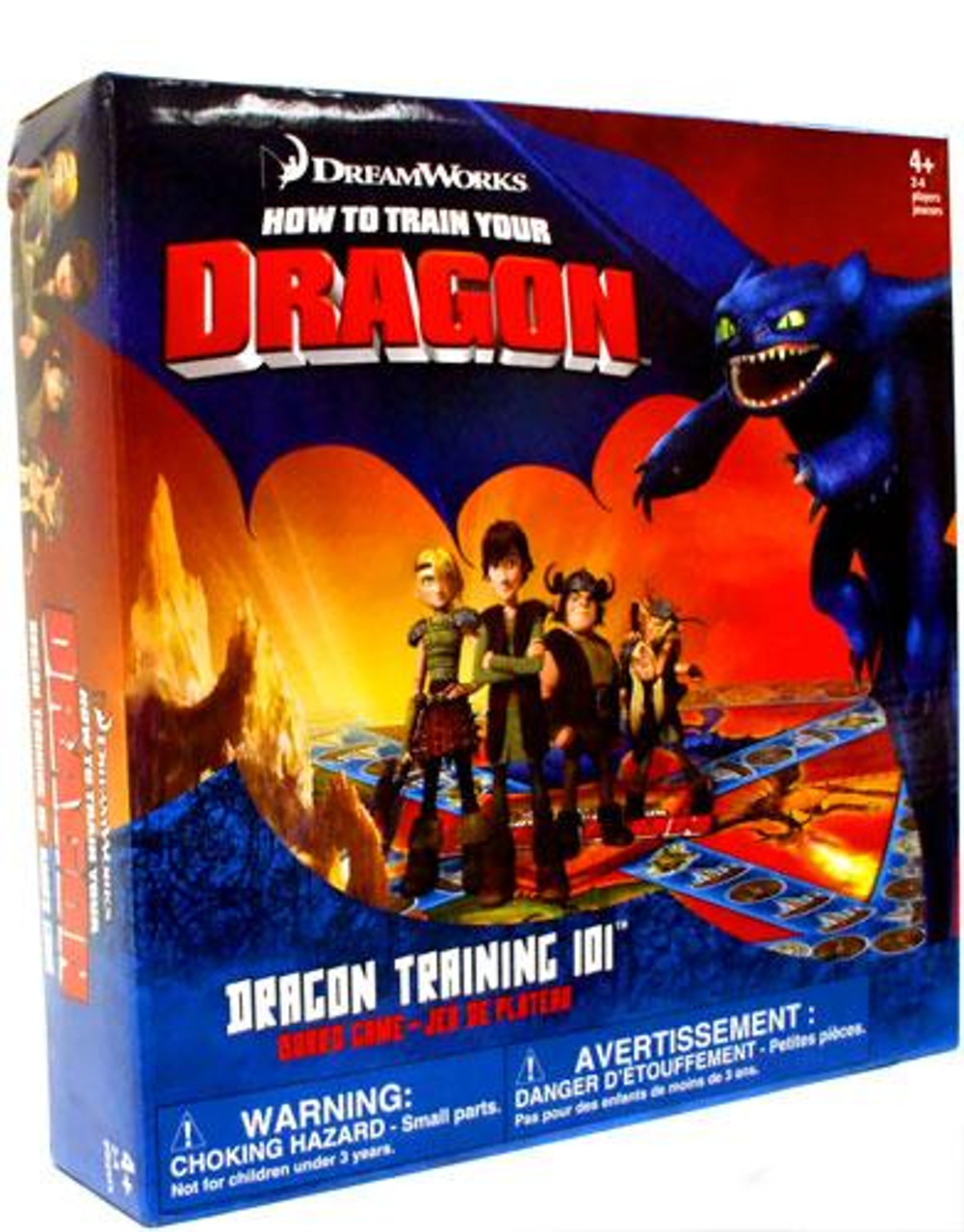 How to Train Your Dragon Dragon Training 101 Board Game