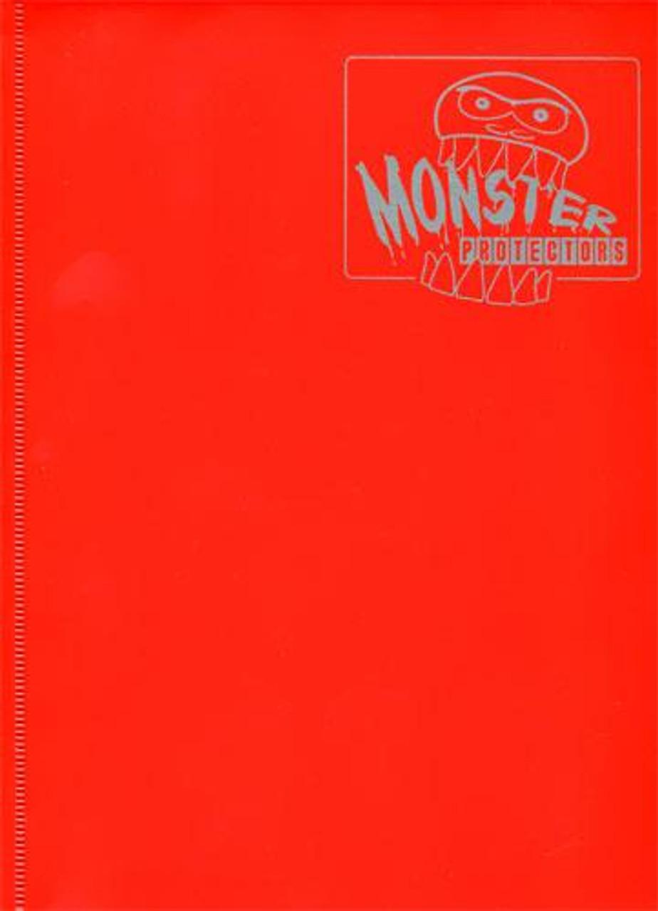 Card Supplies Matte Red 9-Pocket Binder