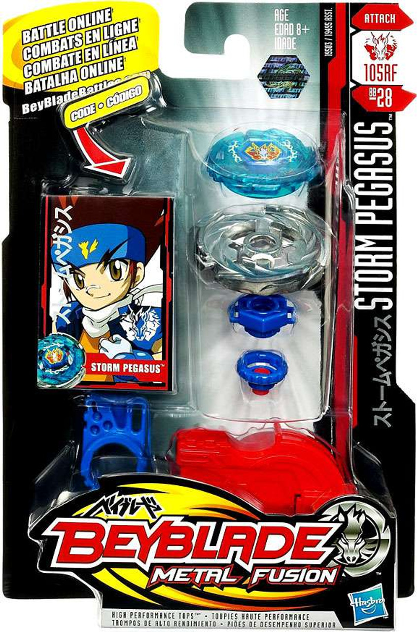 Beyblade Metal Fusion Storm Pegasus Single Pack BB-28