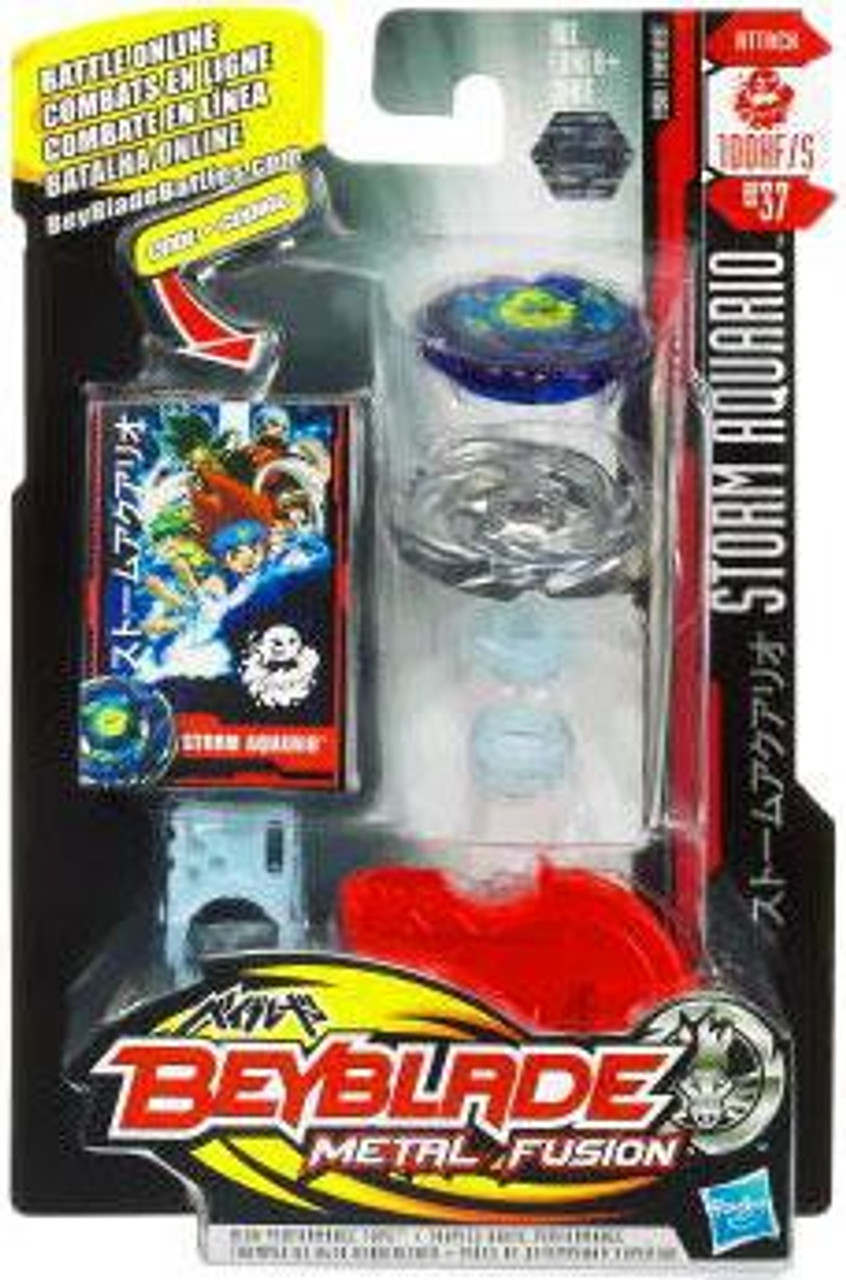Beyblade Metal Fusion Storm Aquario Single Pack BB-37