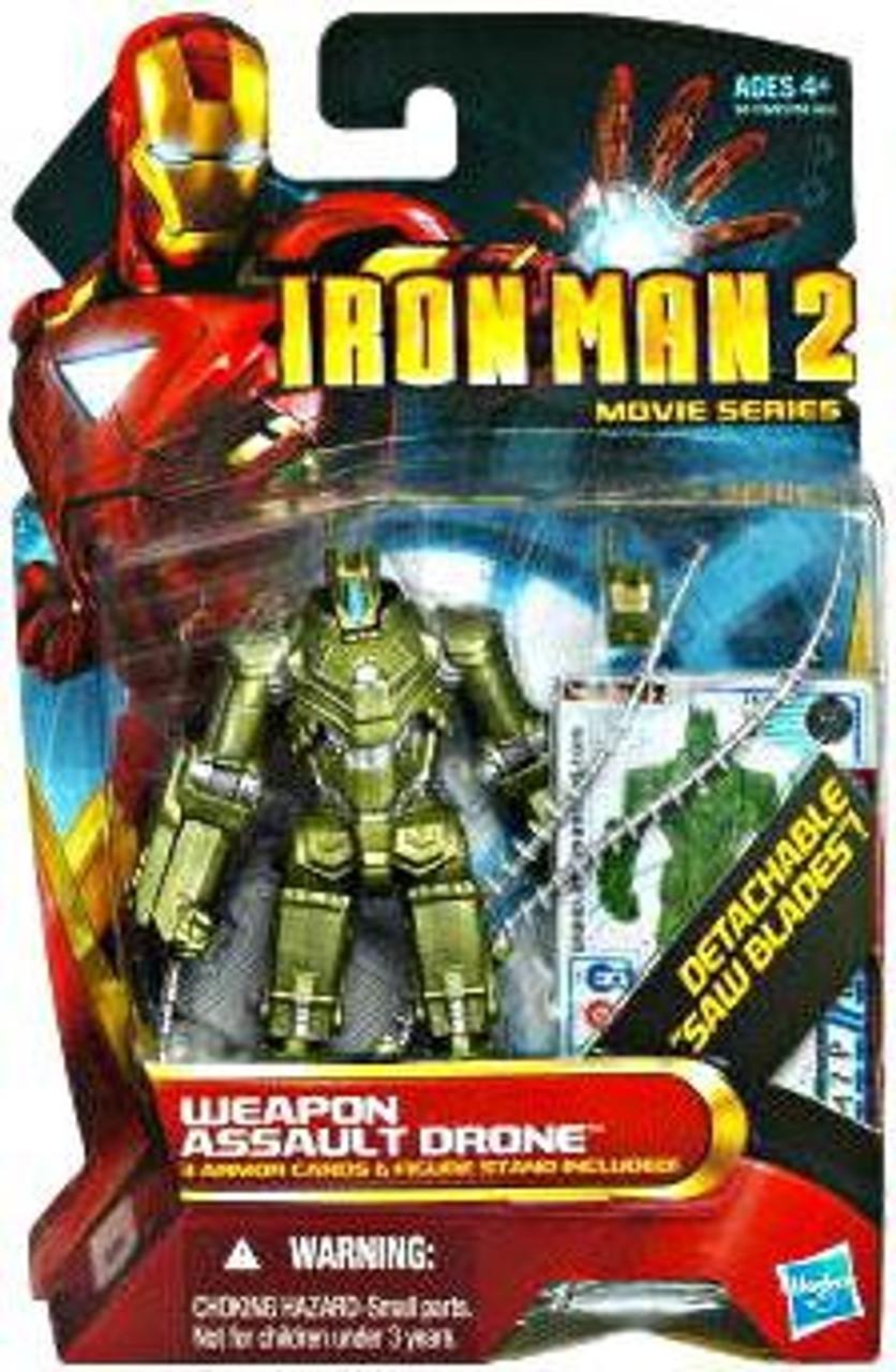 Iron Man 2 Movie Series Weapon Assault Drone Action Figure #16