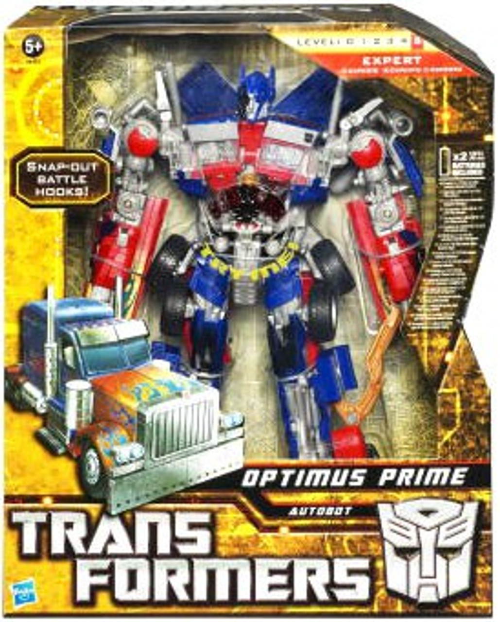 Transformers Hunt for the Decepticons Optimus Prime Leader Action Figure