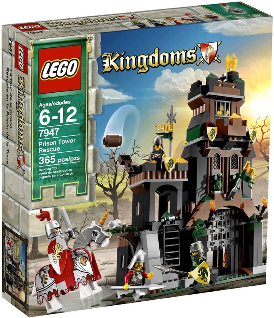 LEGO Kingdoms Prison Tower Rescue Set #7947