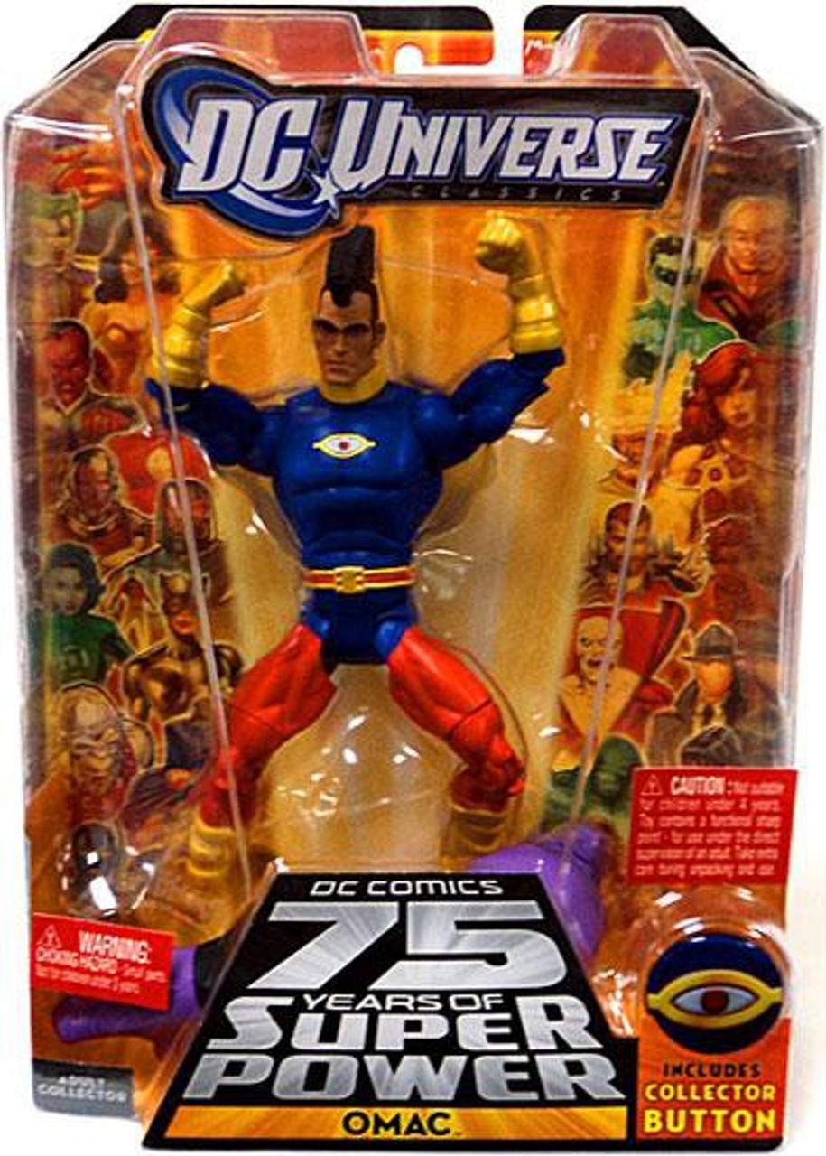 DC Universe 75 Years of Super Power Classics Validus Series OMAC Action Figure