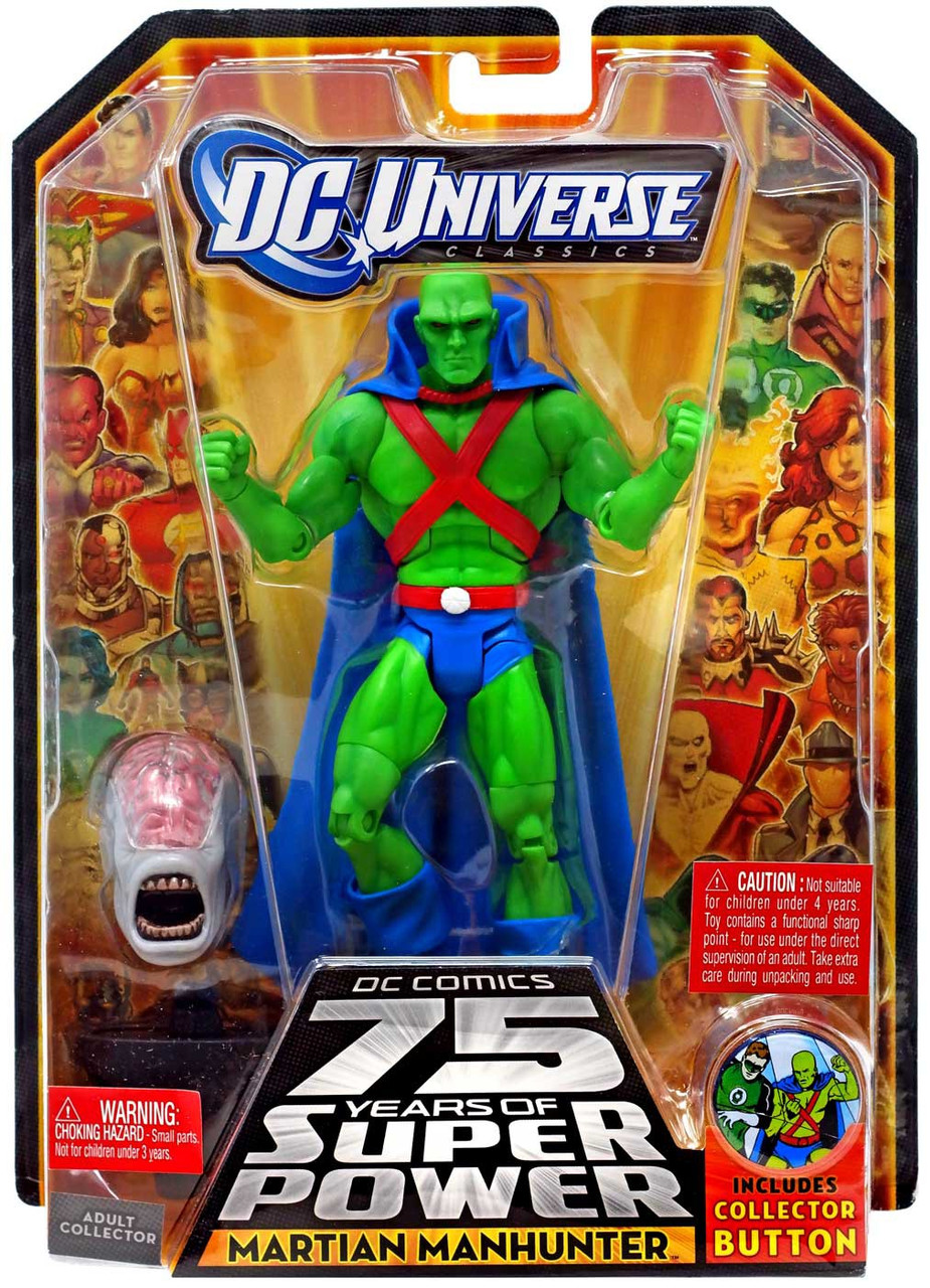DC Universe 75 Years of Super Power Classics Validus Series Martian Manhunter Action Figure