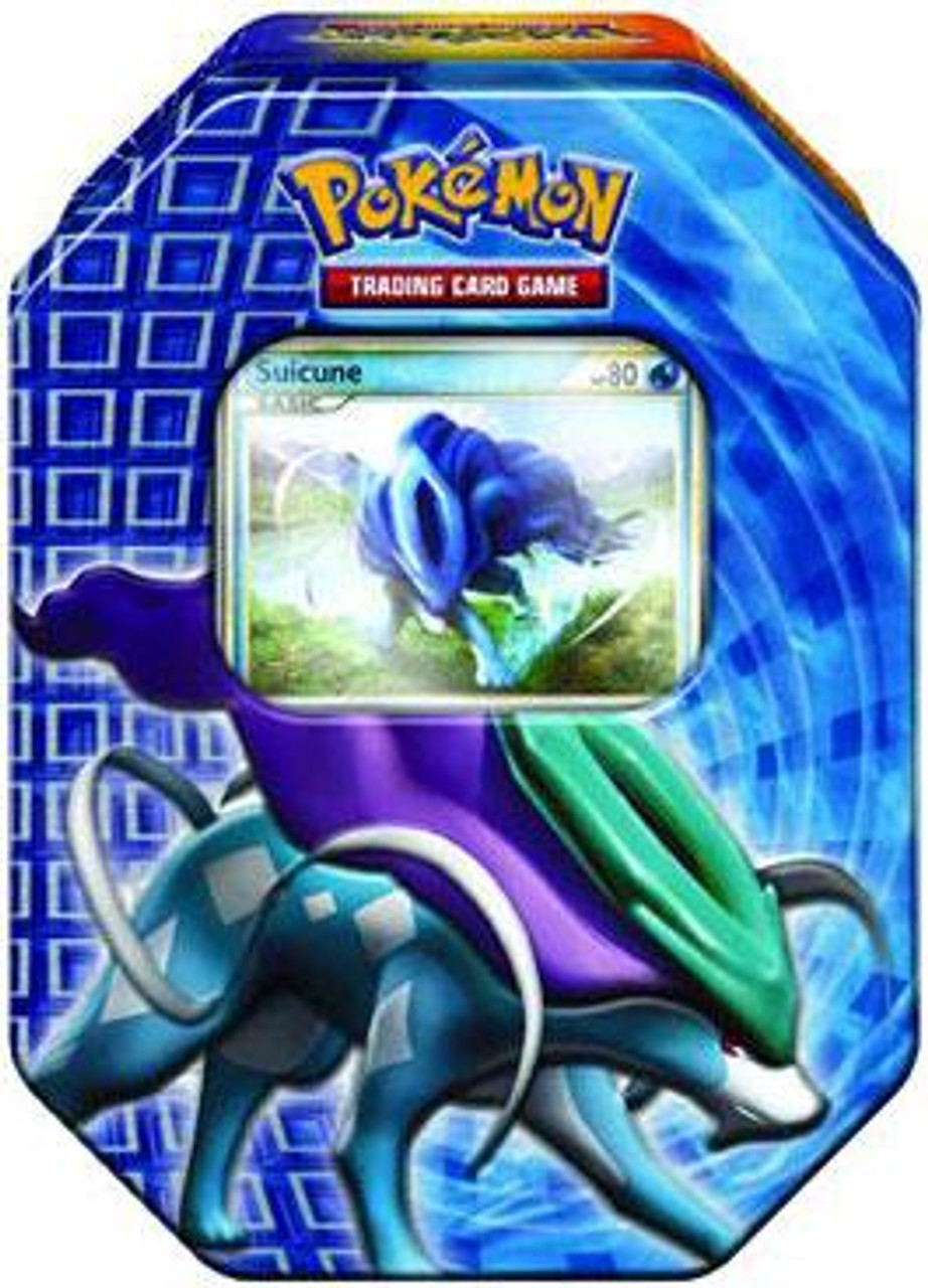 Pokemon HeartGold & Soulsilver Fall 2010 Suicune Collector Tin